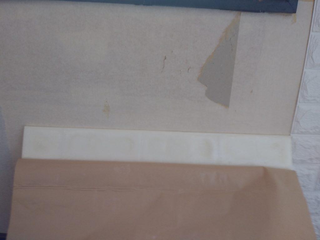 壁紙貼り換え 剥離シート