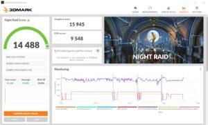 m-Book K700XN-M2SH5-A 3DMark night raid score 1